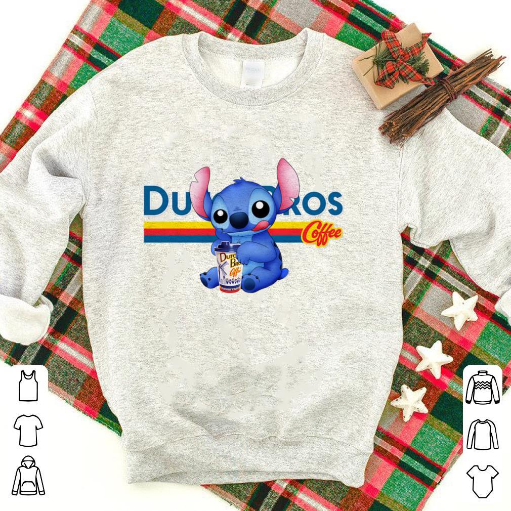 Drink Dutch Bros coffee Stitch shirt