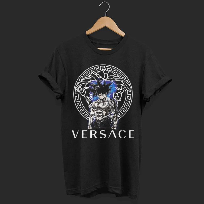 Goku Ultra instinct Versace Dragon Ball Super shirt