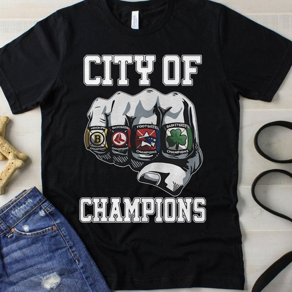 NFL City Of Champions Boston Sports Teams Citizen shirt