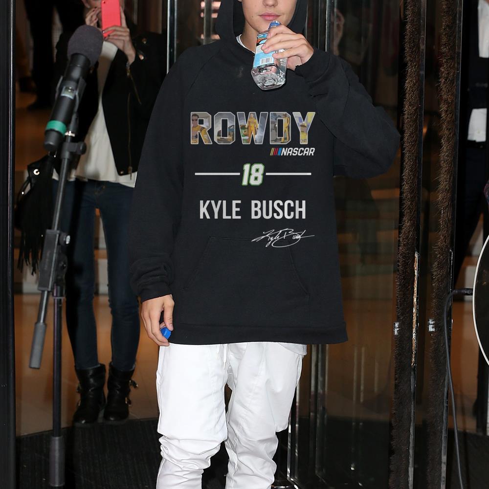 Rowdy Nascar 18 Kyle Busch shirt