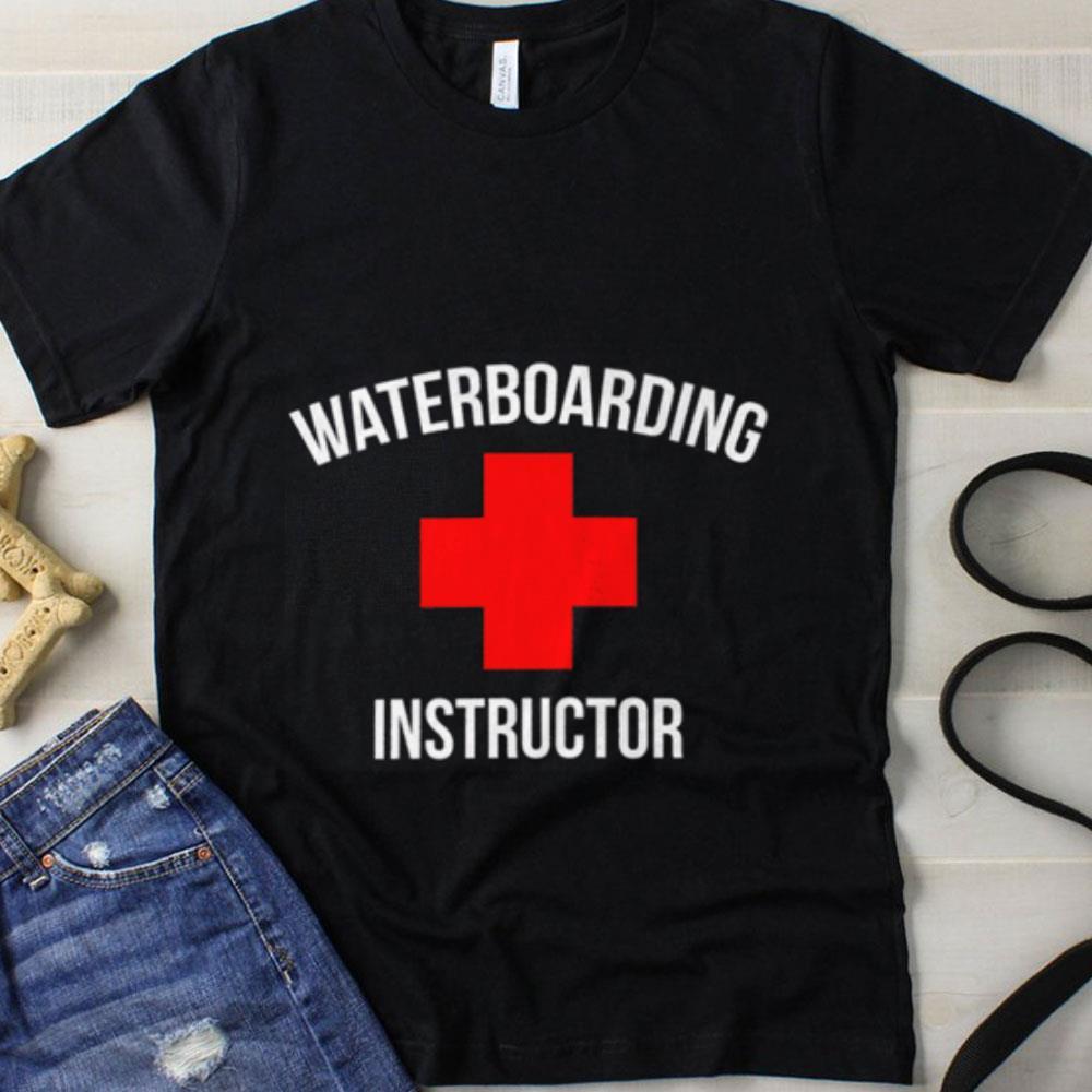Waterboarding instructor shirt 1