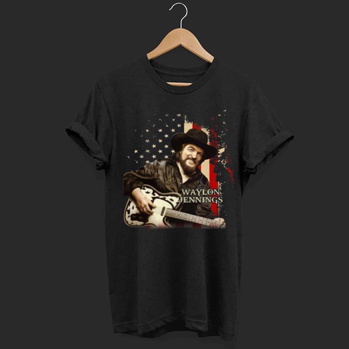 Waylon Jennings america shirt