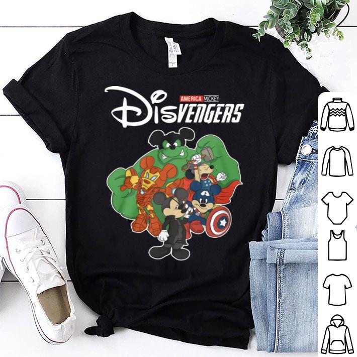 America Mickey Disvenger Superheroes Avengers Disney shirt