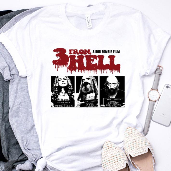 3 From Hell A Rob Zombie shirt