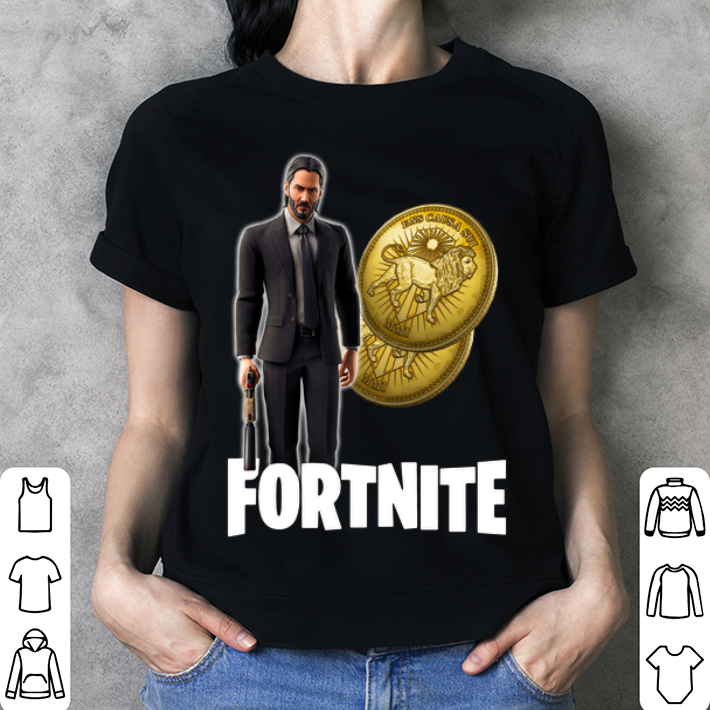 John Wick Fortnite Wick's Bounty Coin shirt