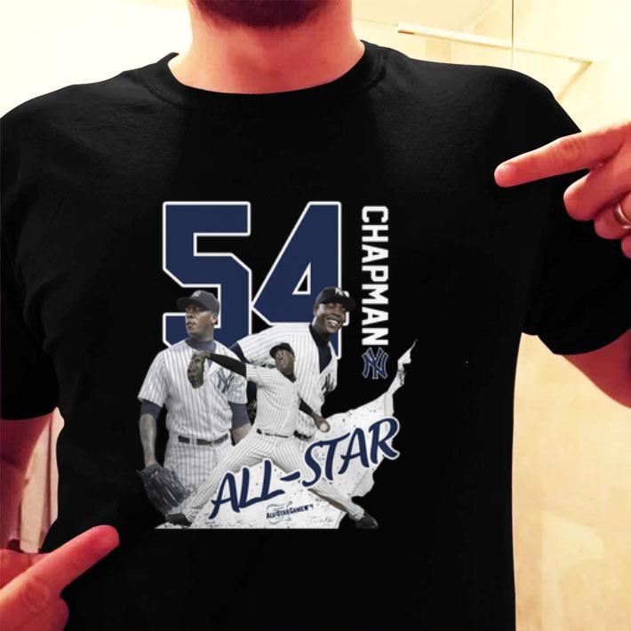 54 Aroldis Chapman all star New York Yankees shirt