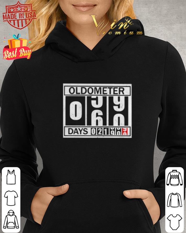 60 Years Old Oldometer Pun shirt 2