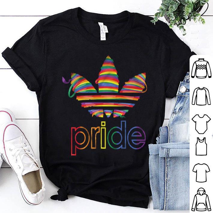 Adidas Superstar pride LGBT shirt