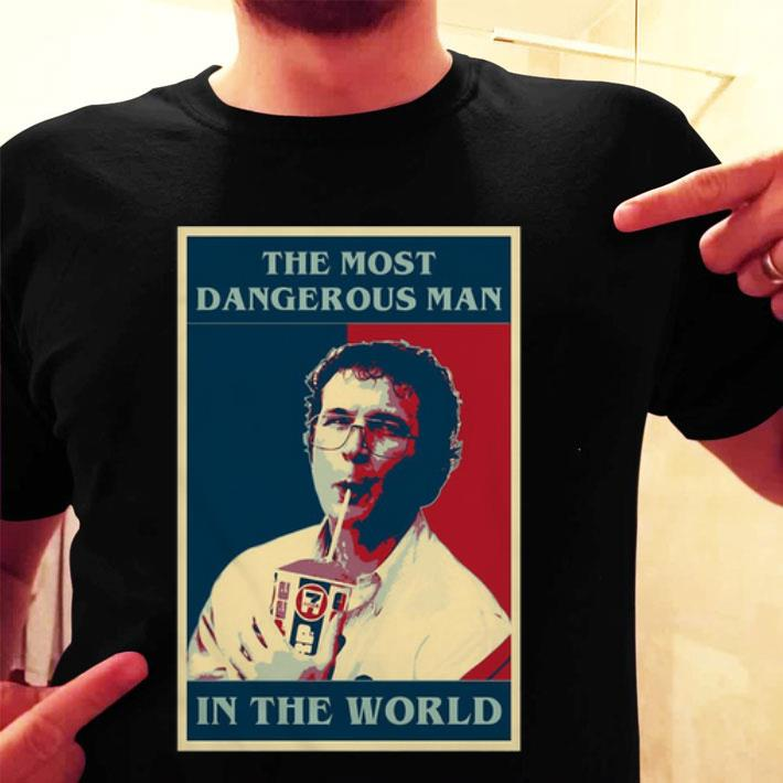 Alexei the most dangerous man in the world no cherry no deal shirt