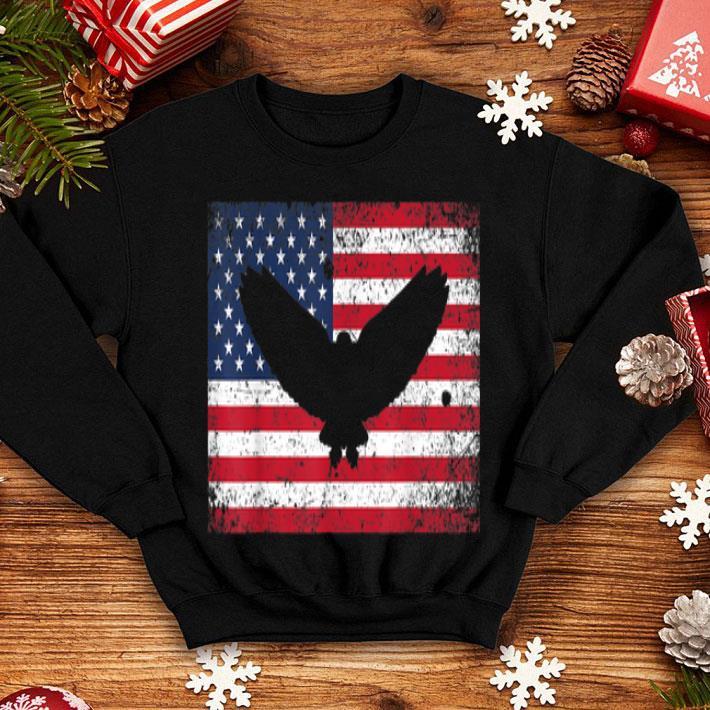 American Flag Eagle Mullet 4th July shirt