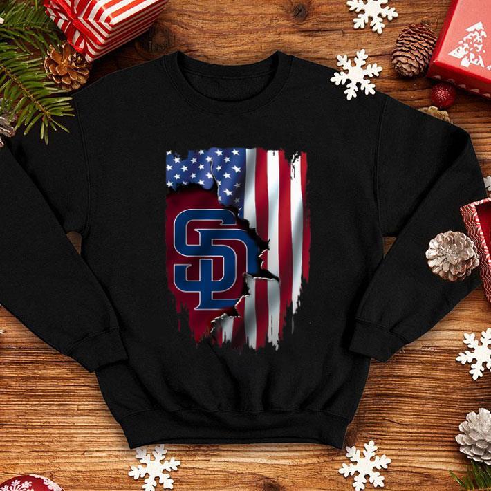 American Flag MLB San Diego Padres shirt