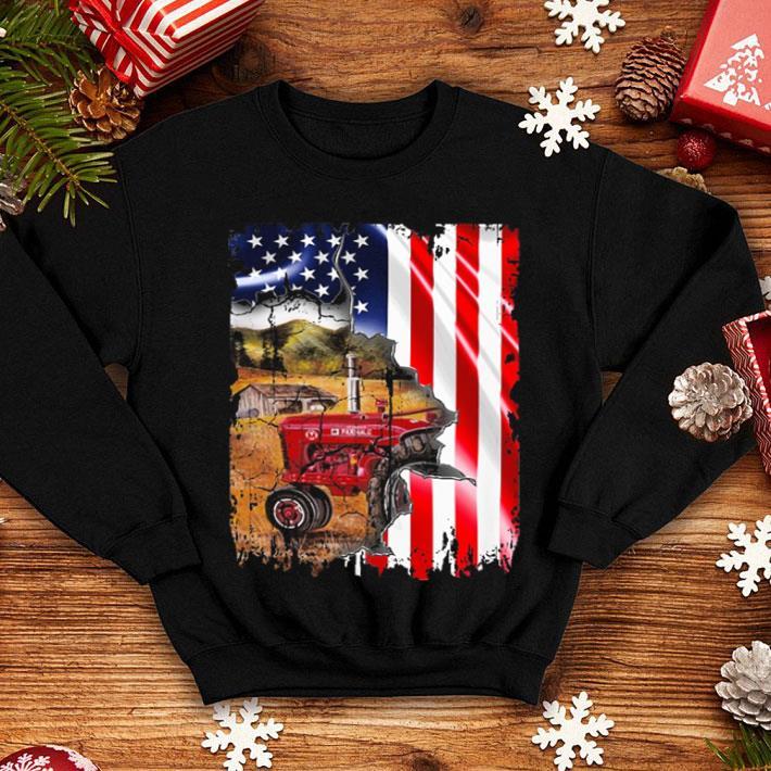 American flag Tractors shirt