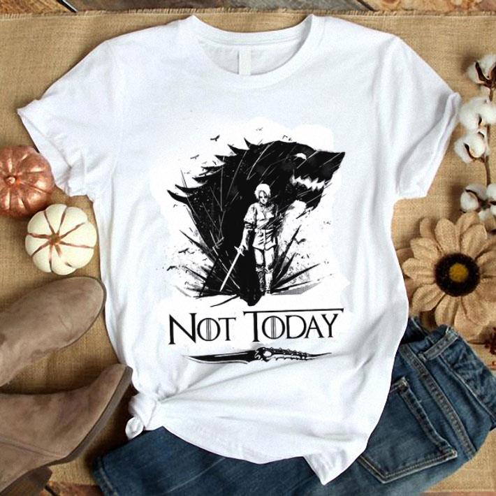Sunset Arya Stark Not Today Game of Thrones shirt 6