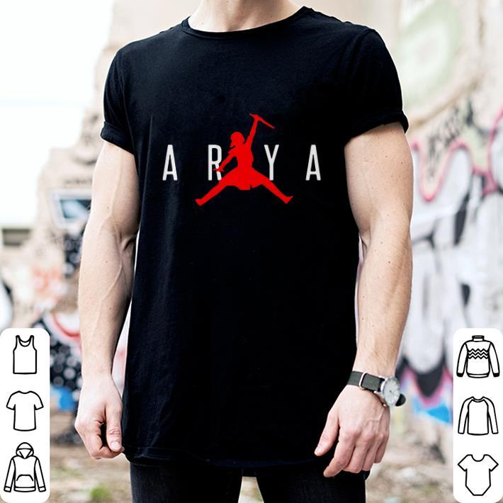 Arya Stark Jumpman Game of Thrones shirt 2
