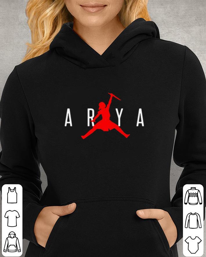 Arya Stark Jumpman Game of Thrones shirt 3