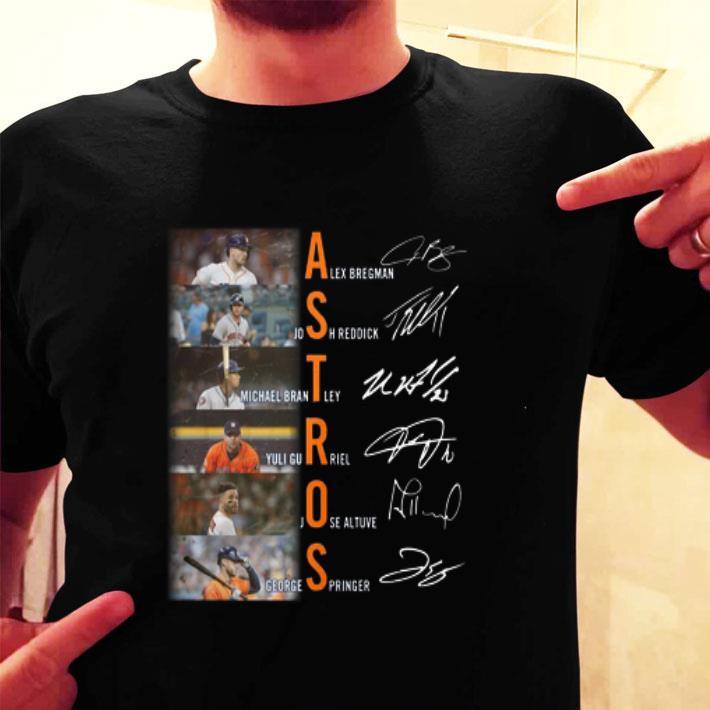 Astros Alex Bregman Josh Reddick Michael Brantley Yuli Gurriel shirt