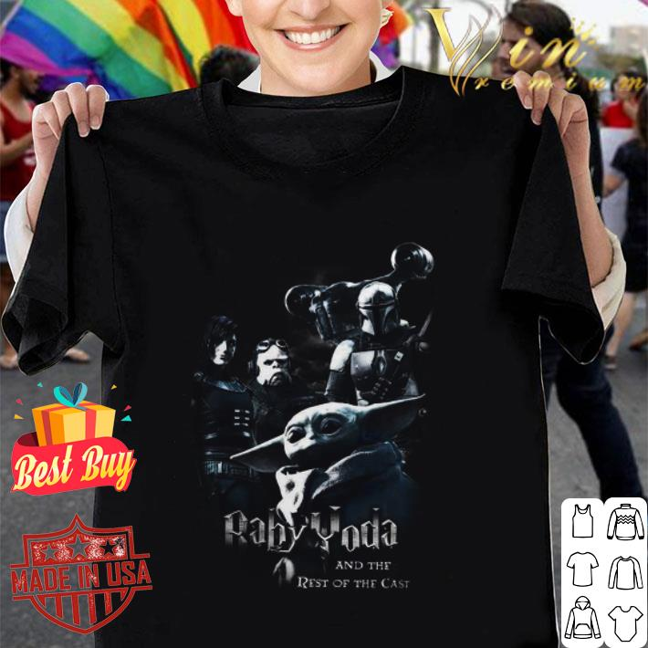Baby Yoda And The Rest Of The Cast shirt
