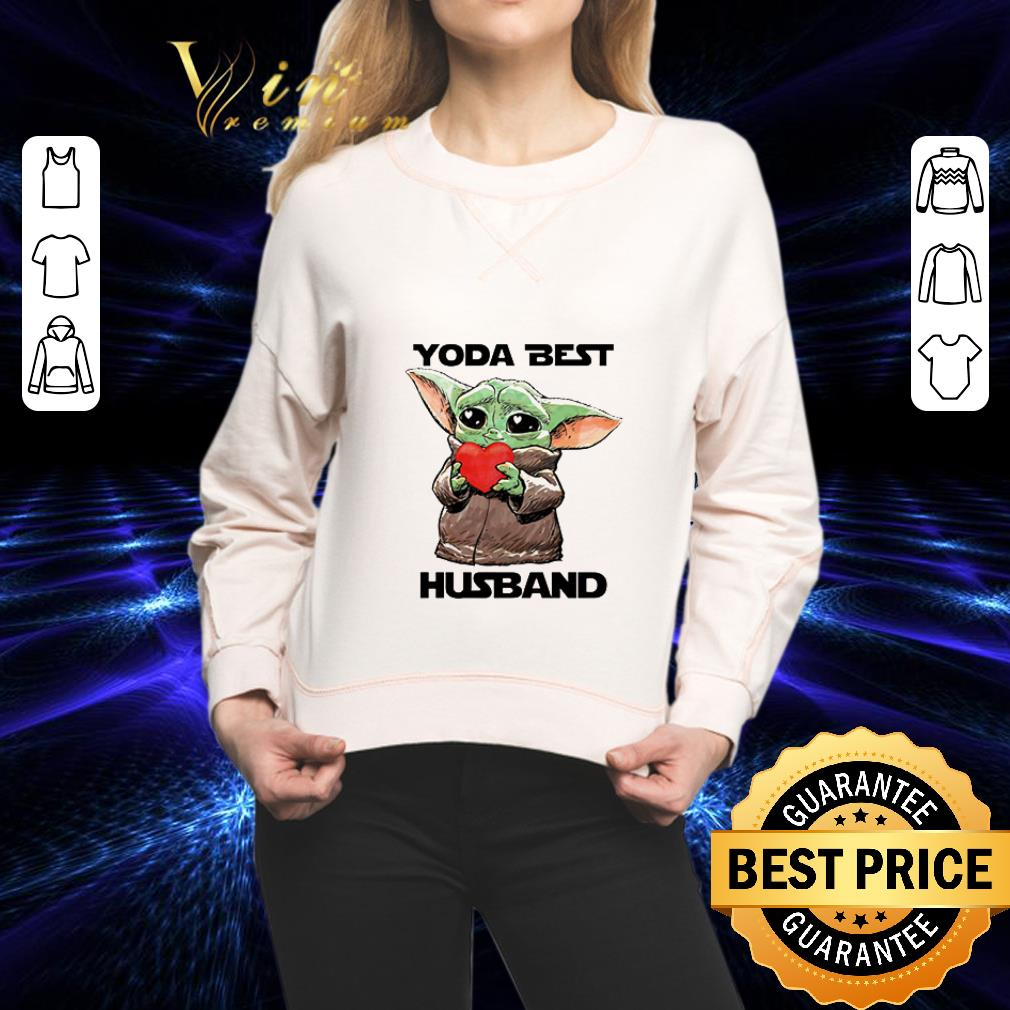 Baby Yoda Best hug Husband Star Wars shirt 2