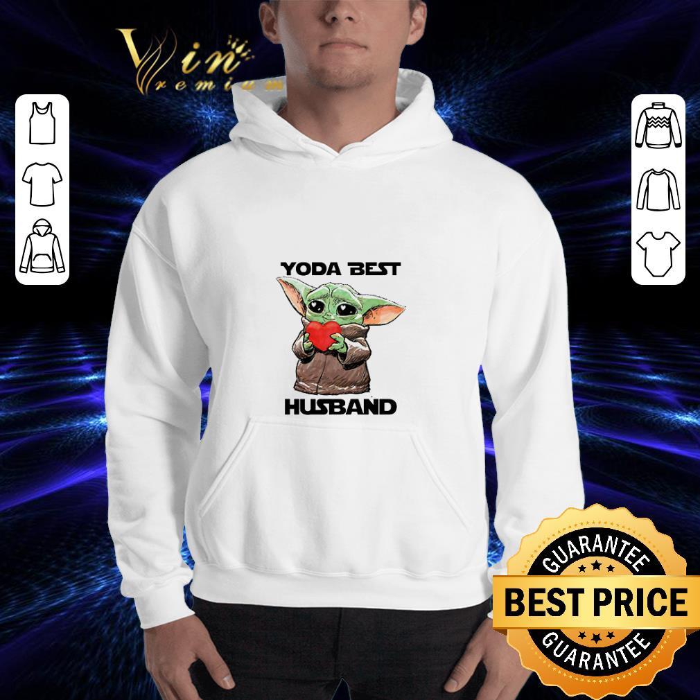 Baby Yoda Best hug Husband Star Wars shirt 3