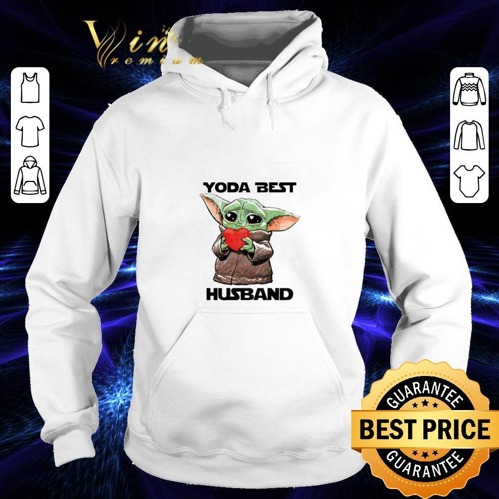 Baby Yoda Best hug Husband Star Wars shirt