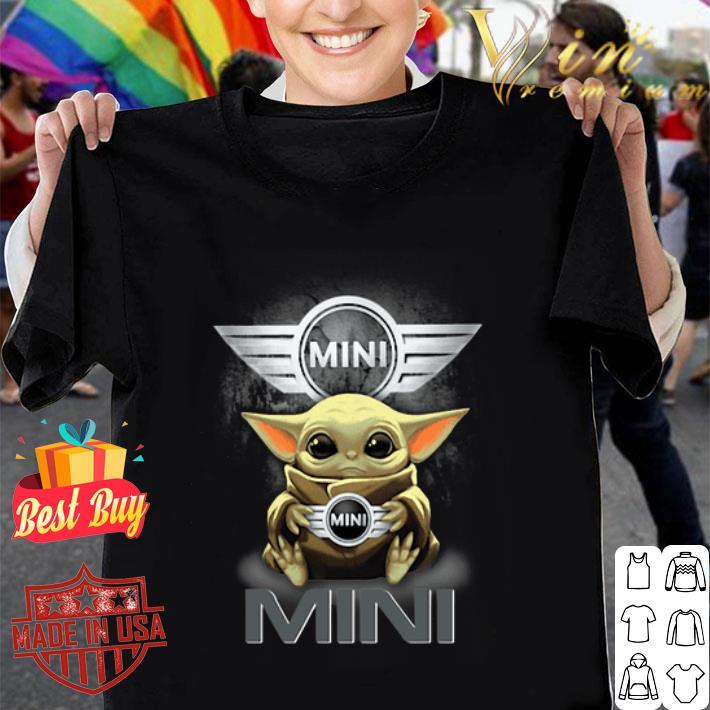 Baby Yoda Hug MINI BMW Star Wars shirt