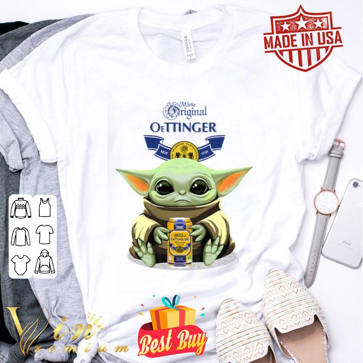 Baby Yoda Hug Marke Original Oettinger Star Wars Mandalorian shirt