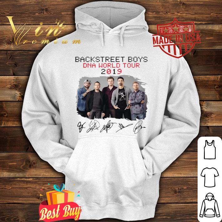 Backstreet Boys Dna World Tour 2019 Signatures shirt