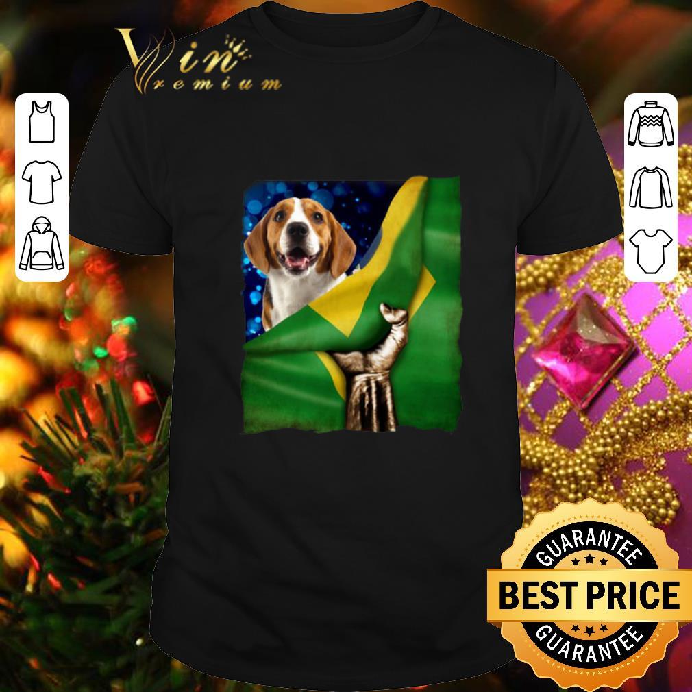 Bandeira do Brasil Beagle shirt 1