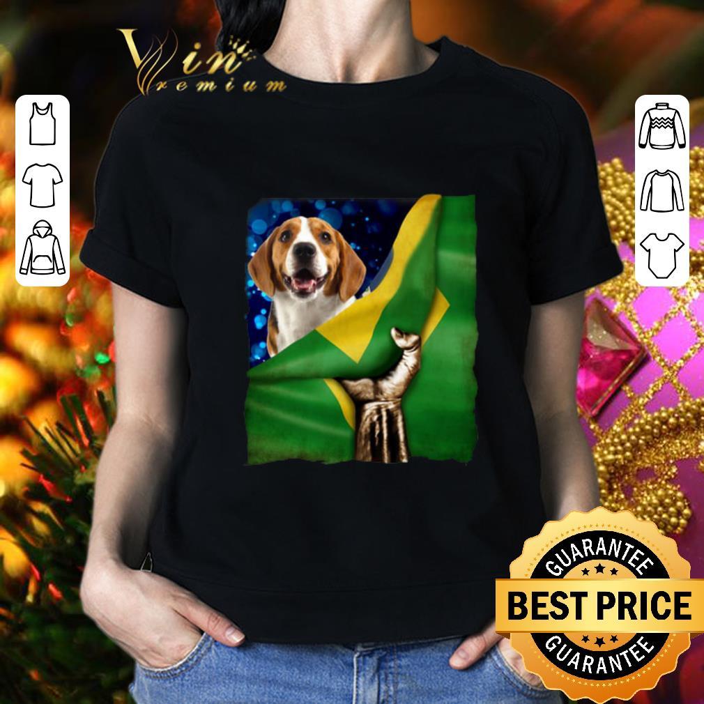 Bandeira do Brasil Beagle shirt 2