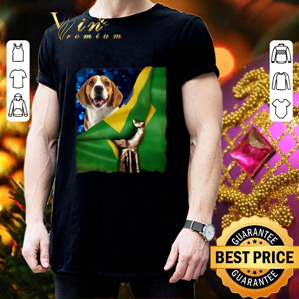 Bandeira do Brasil Beagle shirt 3
