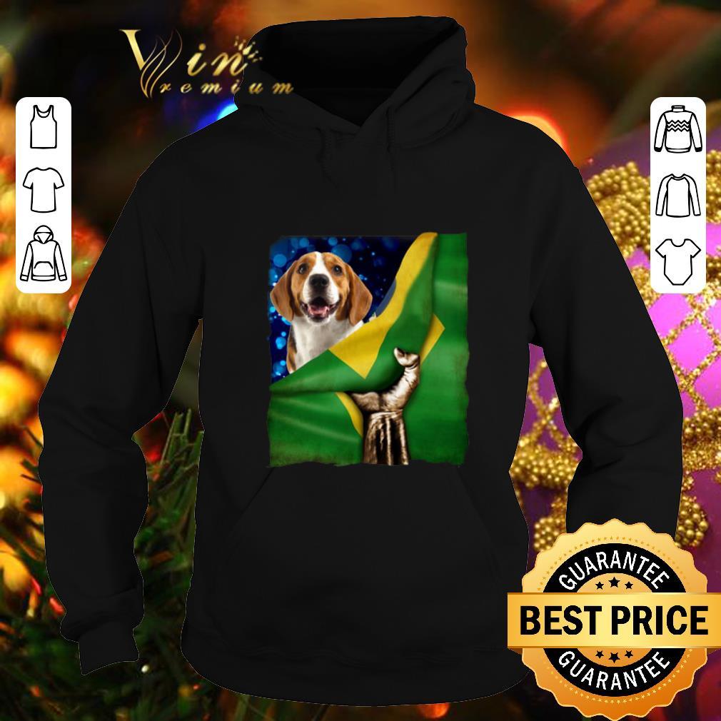 Bandeira do Brasil Beagle shirt