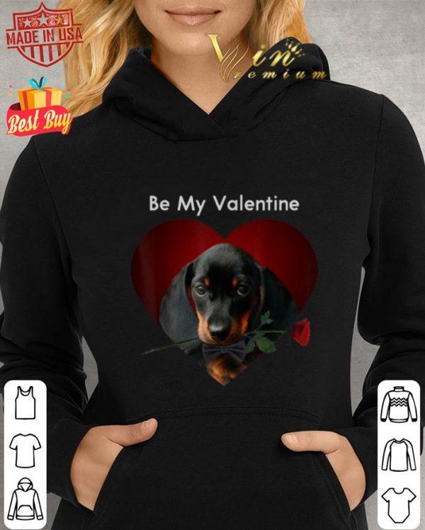 Be My Valentine Dachshund Valentine's Day shirt