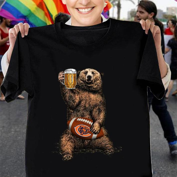 Beer Bear Chicago Bears shirt