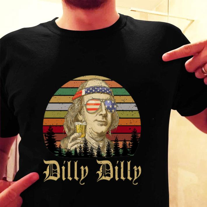 Benjamin Franklin Dilly Dilly shirt