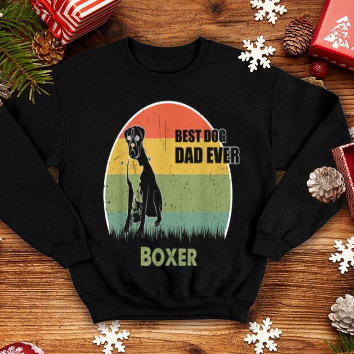 Best Dog Dad Ever Boxer Father Day 2019 shirt