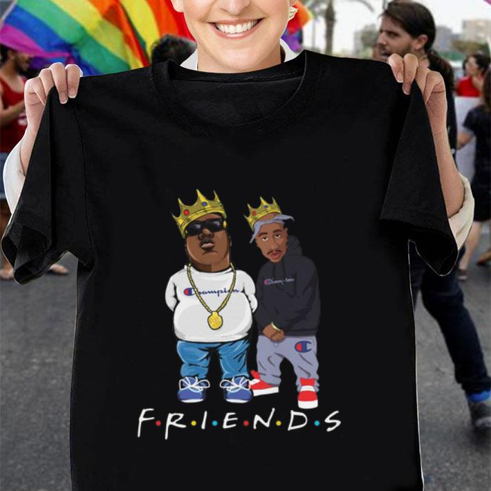 Biggie and Tupac friends Champion shirt