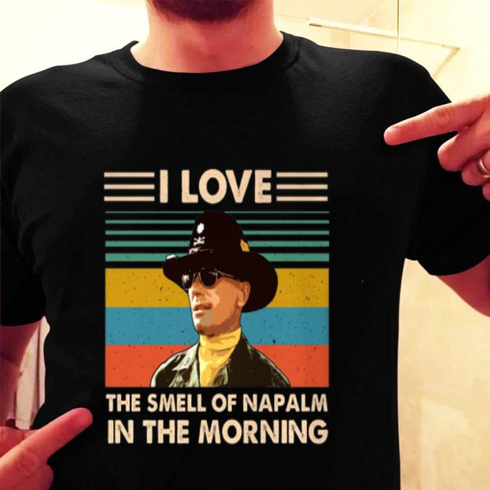 Bill Kilgore I love the smell of Napalm in the morning vintage shirt