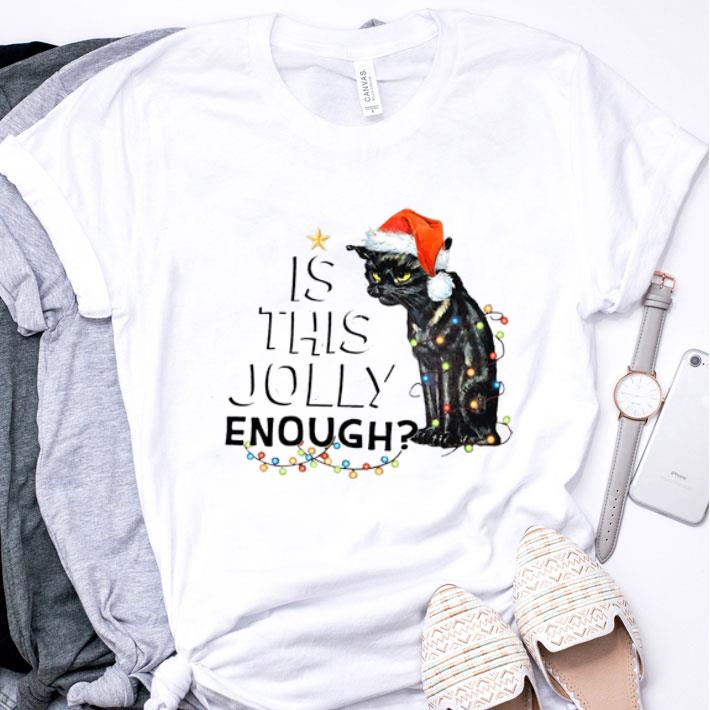 Black cat is this jolly enough shirt