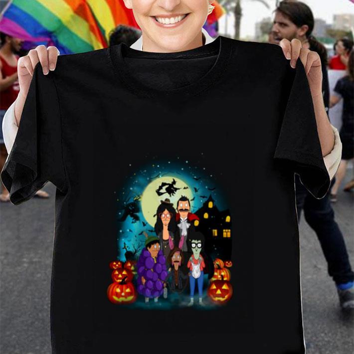 Bob's Burgers Family Halloween characters shirt