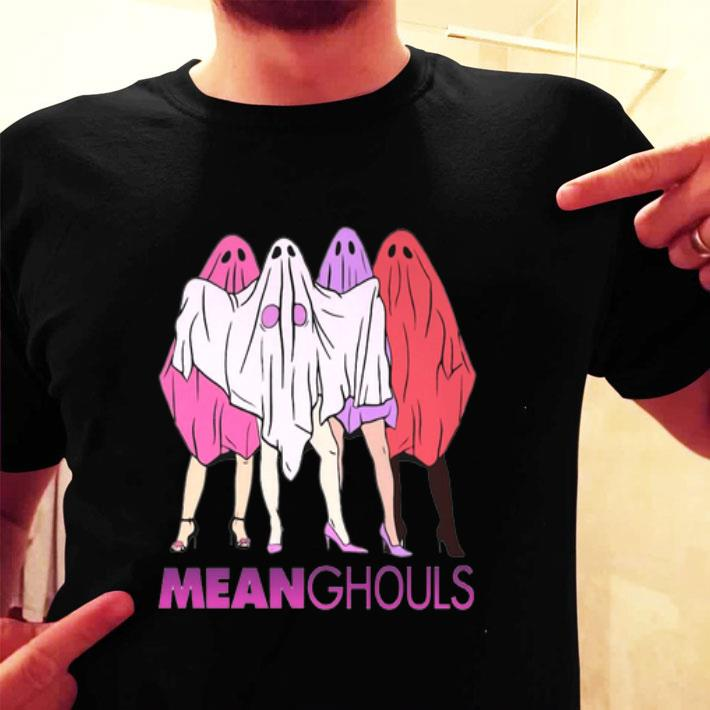 Boo Mean Ghouls shirt