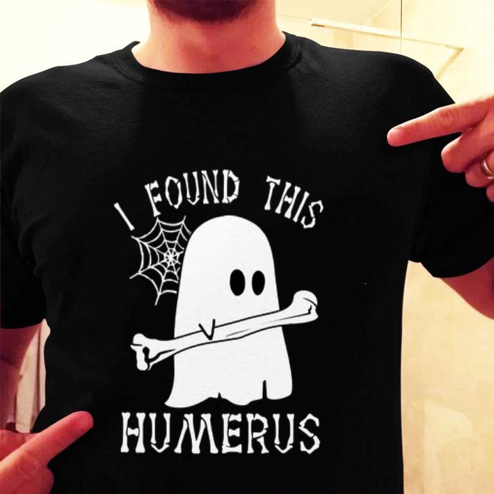Boo ghost i found this humerus shirt