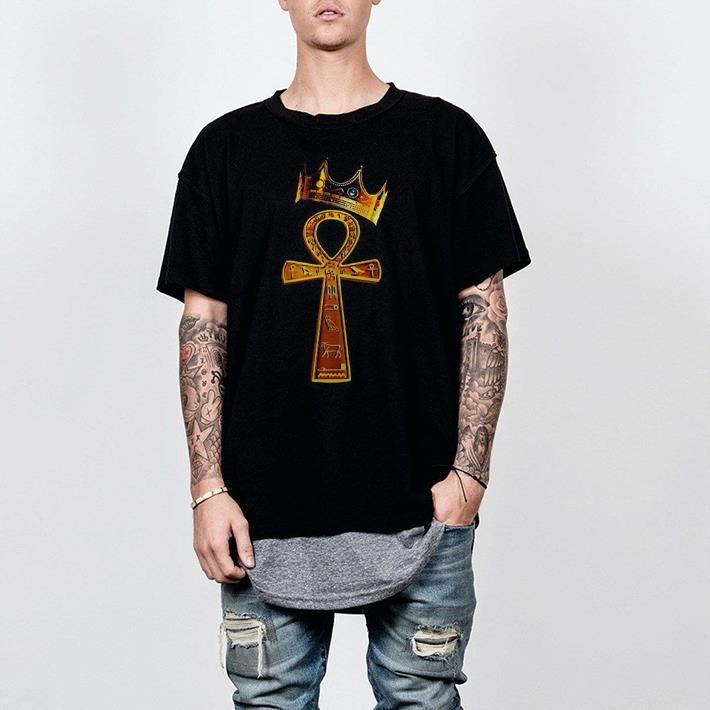 Brass Ankh King Crown shirt