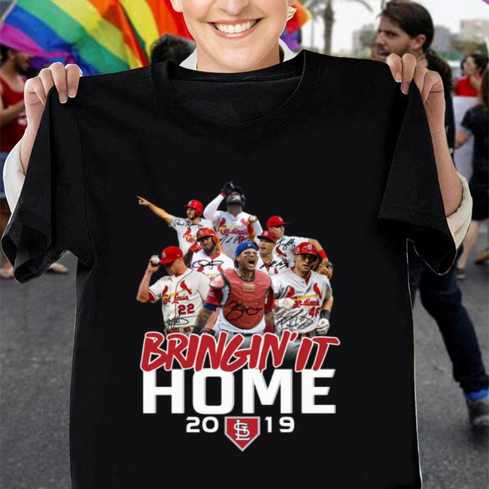 Bringin it home 2019 St Louis Cardinals shirt