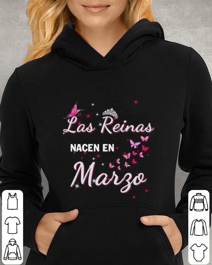 Butterflies Las Reinas Nacen En Margo shirt
