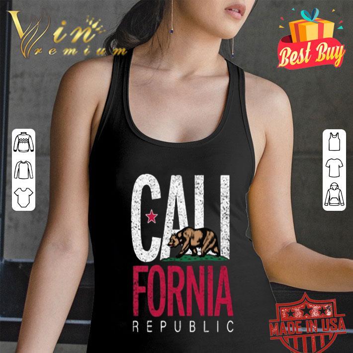 California Republic State Flag Bear shirt