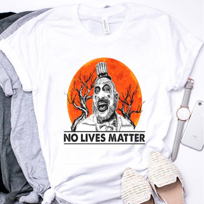 Captain Spaulding no lives matter sunset shirt