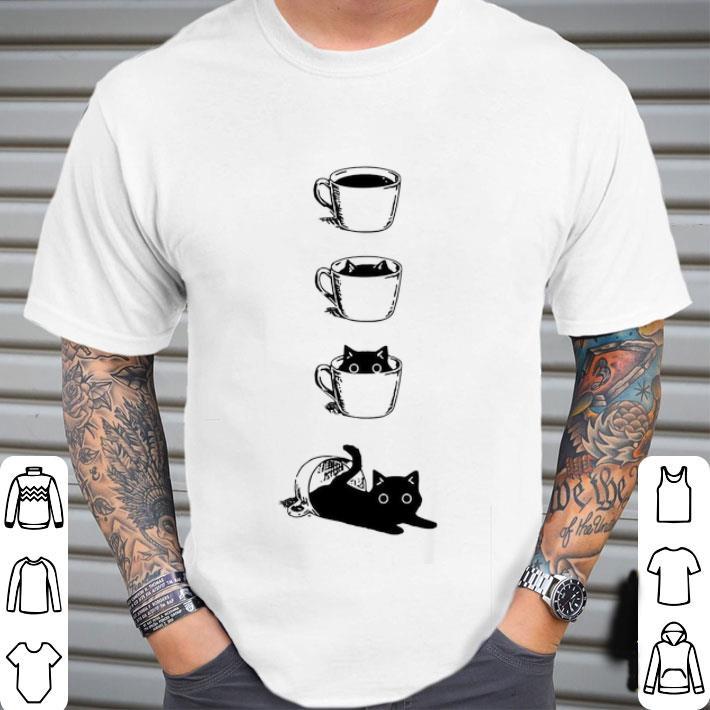 Cat in the Tea Cups shirt
