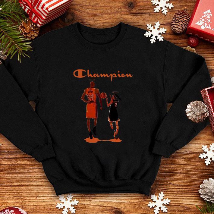 Champion Kobe Bryant and daughter Gianna shirt