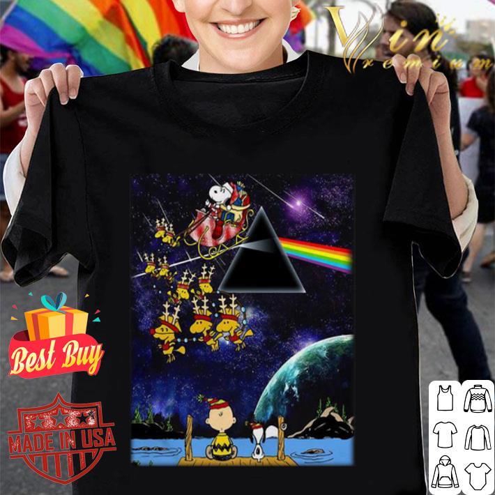 Charlie Brown And Snoopy Pink Floyd Christmas shirt