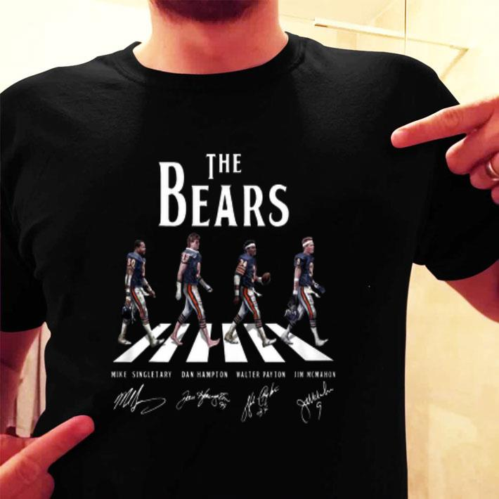 Chicago Bears The Bears Abbey Road Signatures shirt